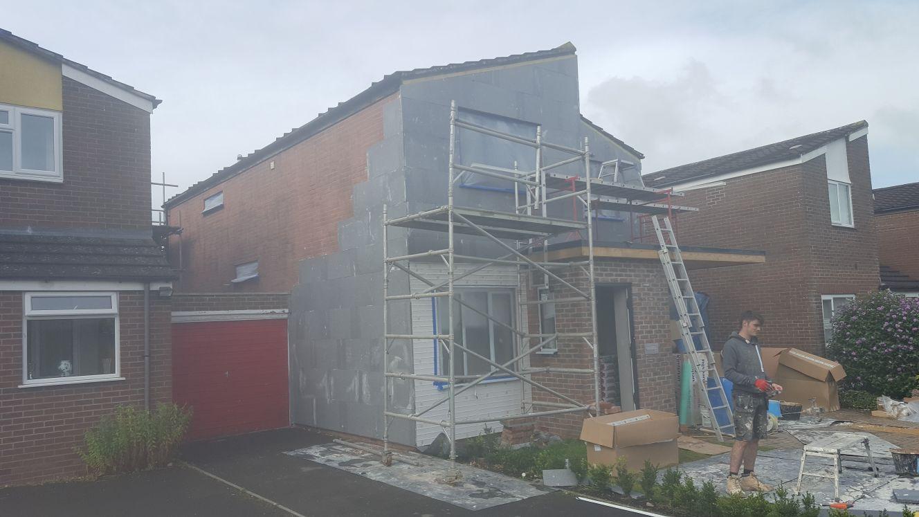 External Wall Insulation - Hartley Plastering