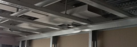 MF Ceilings, Metal Stud Partitions